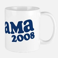 Retro Obama 2008 Mug