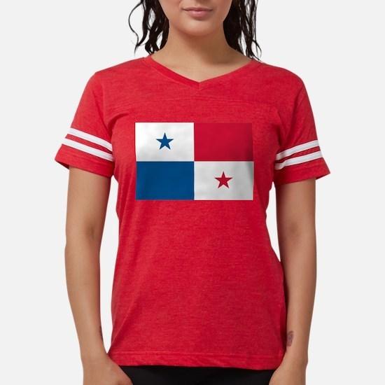 Cute Panamanian flag Womens Football Shirt