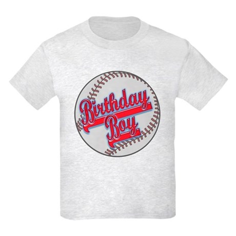 Baseball Birthday Boy Kids Light T-Shirt