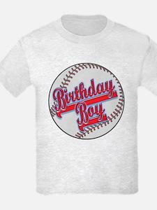 Baseball Birthday Boy T-Shirt