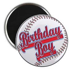 Baseball Birthday Boy Magnet