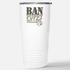 Ban Puppy Mills Travel Mug