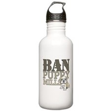 Ban Puppy Mills Water Bottle