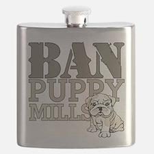 Ban Puppy Mills Flask