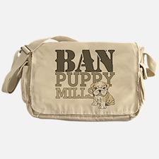 Ban Puppy Mills Messenger Bag