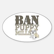 Ban Puppy Mills Decal