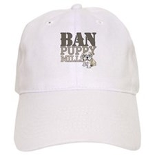 Ban Puppy Mills Baseball Cap