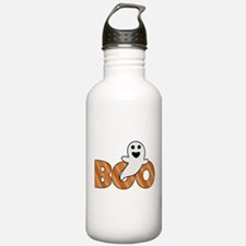 BOO Spooky Halloween Casper Sports Water Bottle