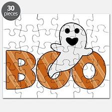 BOO Spooky Halloween Casper Puzzle