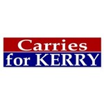 Carries for Kerry Bumper Sticker