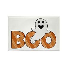 BOO Spooky Halloween Casper Magnets