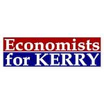 Economists for Kerry Bumper Sticker