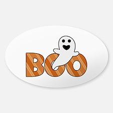 BOO Spooky Halloween Casper Decal