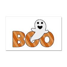 BOO Spooky Halloween Casper Car Magnet 20 x 12