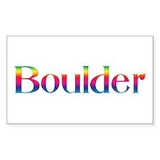 Boulder Rectangle Decal