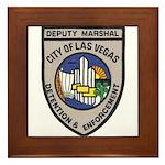 Vegas Marshal Framed Tile