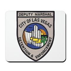 Vegas Marshal Mousepad