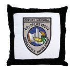 Vegas Marshal Throw Pillow