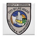 Vegas Marshal Tile Coaster
