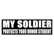 USA Honor Student Car Sticker
