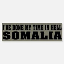 Somalia-Hell Bumper Bumper Bumper Sticker