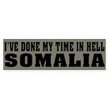 Somalia-Hell Bumper Bumper Sticker