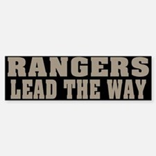 Rangers-Lead Bumper Bumper Bumper Sticker