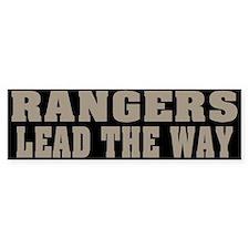 Rangers-Lead Bumper Car Sticker