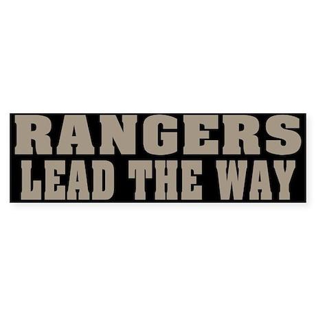 Rangers-Lead Bumper Sticker