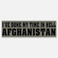 Afghanistan-Hell Bumper Bumper Bumper Sticker