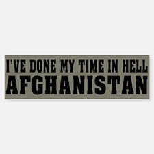 Afghanistan-Hell Bumper Sticker (50 pk)