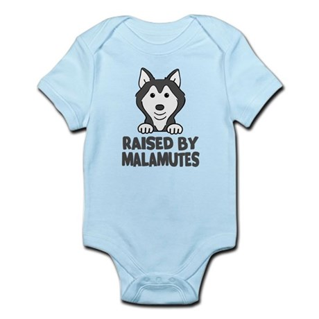 Raised by Malamutes Body Suit