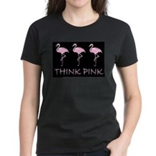 Breast cancer flamingo T-Shirt