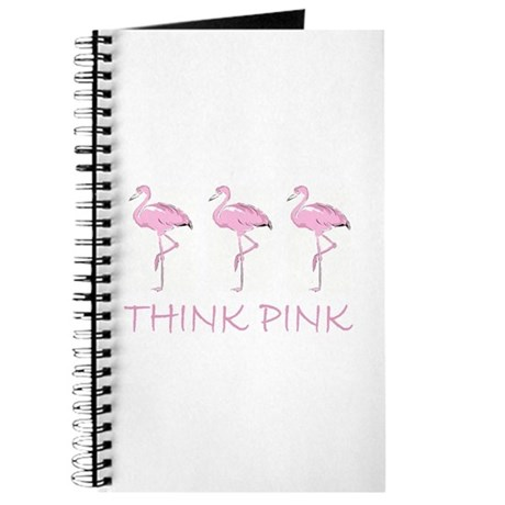 Breast cancer flamingo Journal