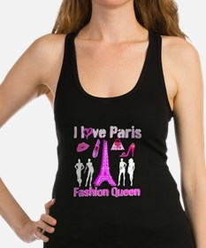 PARIS COUTURE Racerback Tank Top