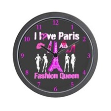 PARIS COUTURE Wall Clock