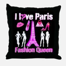 PARIS COUTURE Throw Pillow