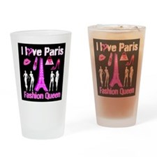 PARIS COUTURE Drinking Glass