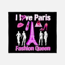 PARIS COUTURE Throw Blanket