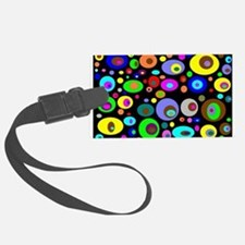 abstraction-with-bright-circles Luggage Tag