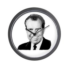 Richard Nixon Wall Clock