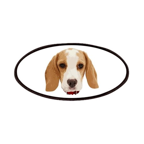 Beagle Face 001 Patches