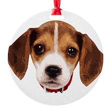 Beagle face 002 Ornament
