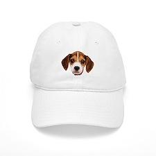 Beagle face 002 Casquettes de Baseball