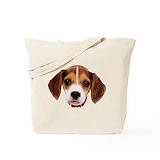 Beagle face 002 Tote Bag