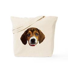 Beagle Face 003 Tote Bag