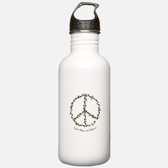 Give Bees A Chance Water Bottle