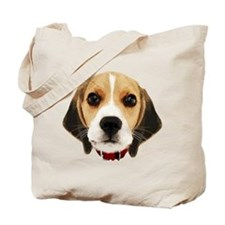 Beagle Face 004 Tote Bag