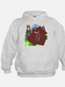 blockcraft city skater Hoodie