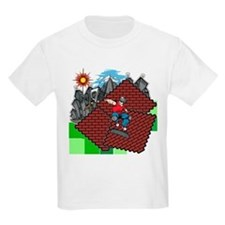 blockcraft city skater T-Shirt